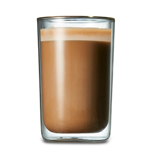 Double Wall Latte Glass Single