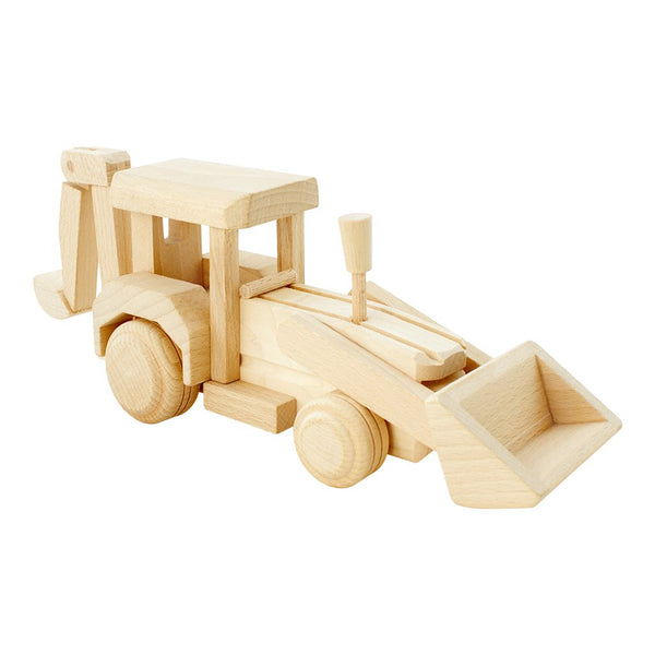 Wooden Backhoe Loader