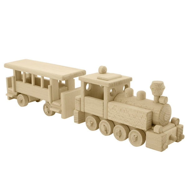 Wooden Steam Train