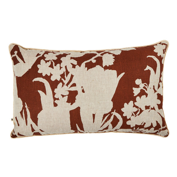 Iris Rust Cushion