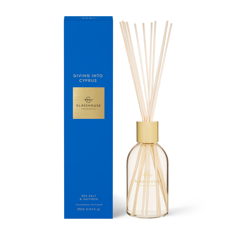 CYPRUS Sea Salt & Saffron Fragrance Diffuser