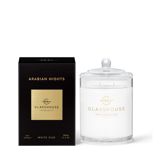 ARABIAN NIGHTS White Oud Candle