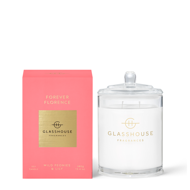 FLORENCE Wild Peonies & Lily Candle