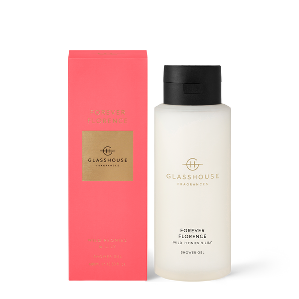 FLORENCE Wild Peonies & Lily Shower Gel
