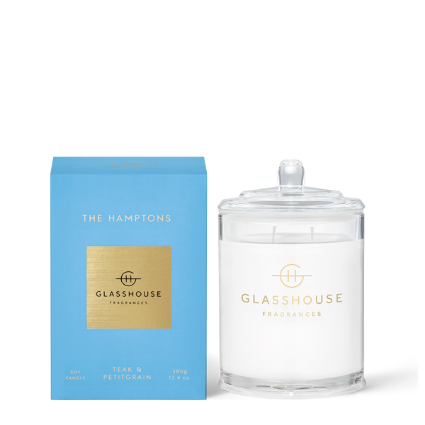 THE HAMPTONS Teak & Petitgrain Candle