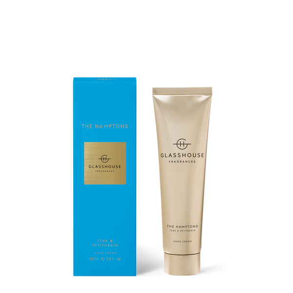 THE HAMPTONS Teak & Petitgrain Hand Cream
