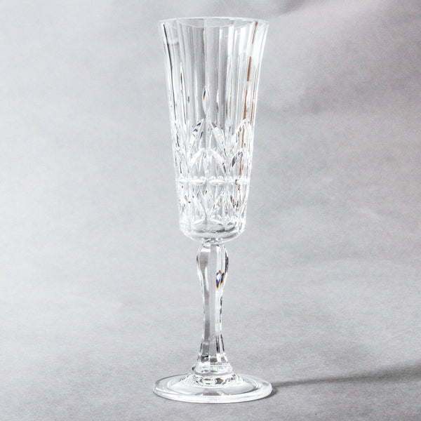 Pavillion Clear Acrylic Champagne Flute