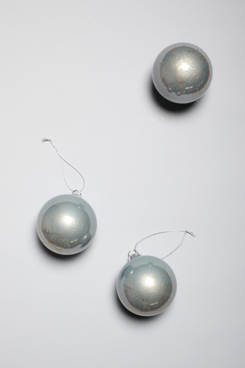 Stone Blue Shine Bauble