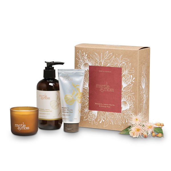 GIFT TRIO - MANDARIN, LEMON MYRTLE & ORANGE PEEL