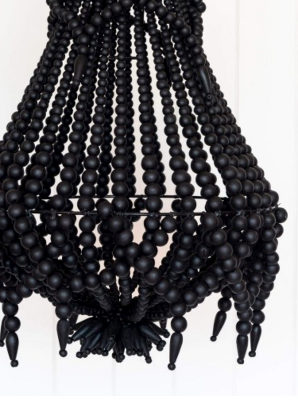 Lyla Black Beaded Chandelier