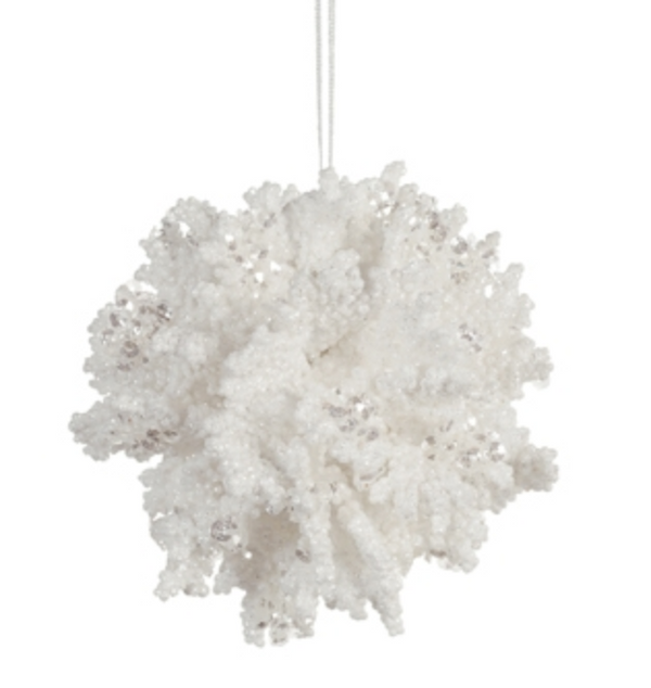 Coral Ball Ornament