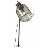 Freestanding Brass Metal Floor Lamp