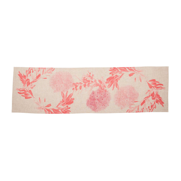 Flowering Gum Pink Table Runner