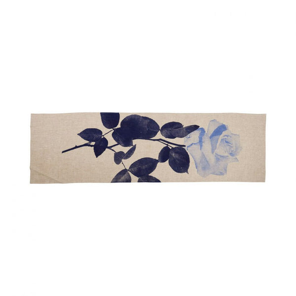 Rosa Table Runner Blue