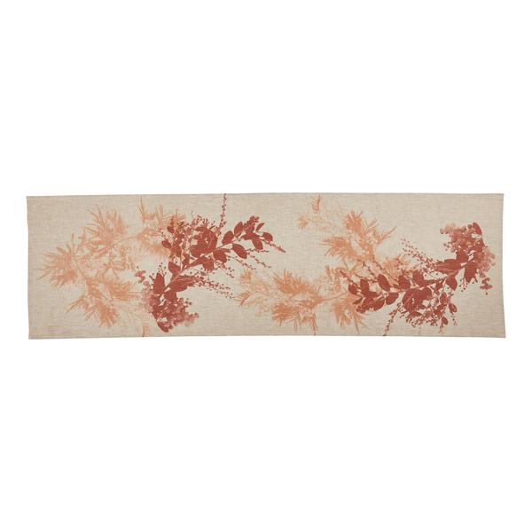 WATTLE TERRACOTTA Table Runner