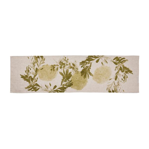 FLOWERING GUM KHAKI Table Runner