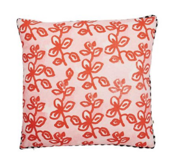 Sweet Pea Cushion Scarlett 50cm
