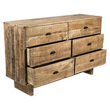 6 Drawer Mango Wooden Dresser