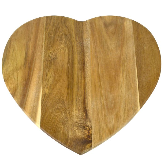 Heart Acacia Serving Board