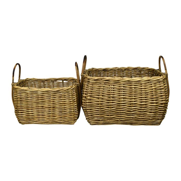 Willow Basket Set/2
