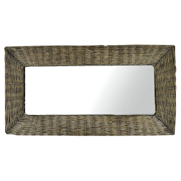 Mila Wicker Mirror