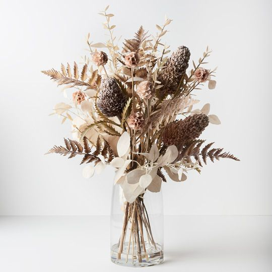 Acorn Banksia Mix in Vase