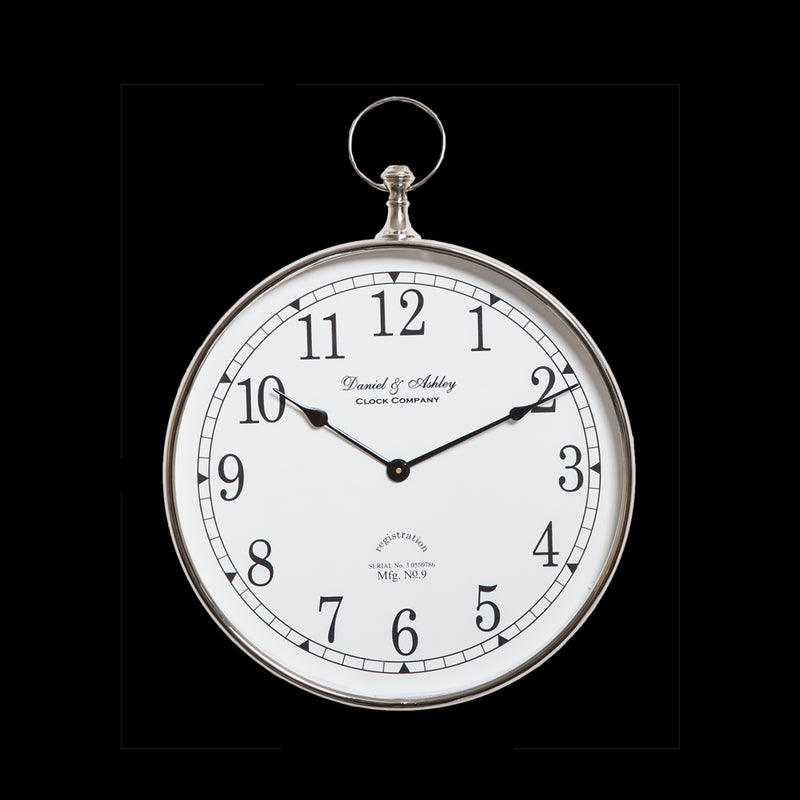 Daniel & Ashley Wall Clock 40cm
