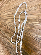 Gwen White Pearl Necklace