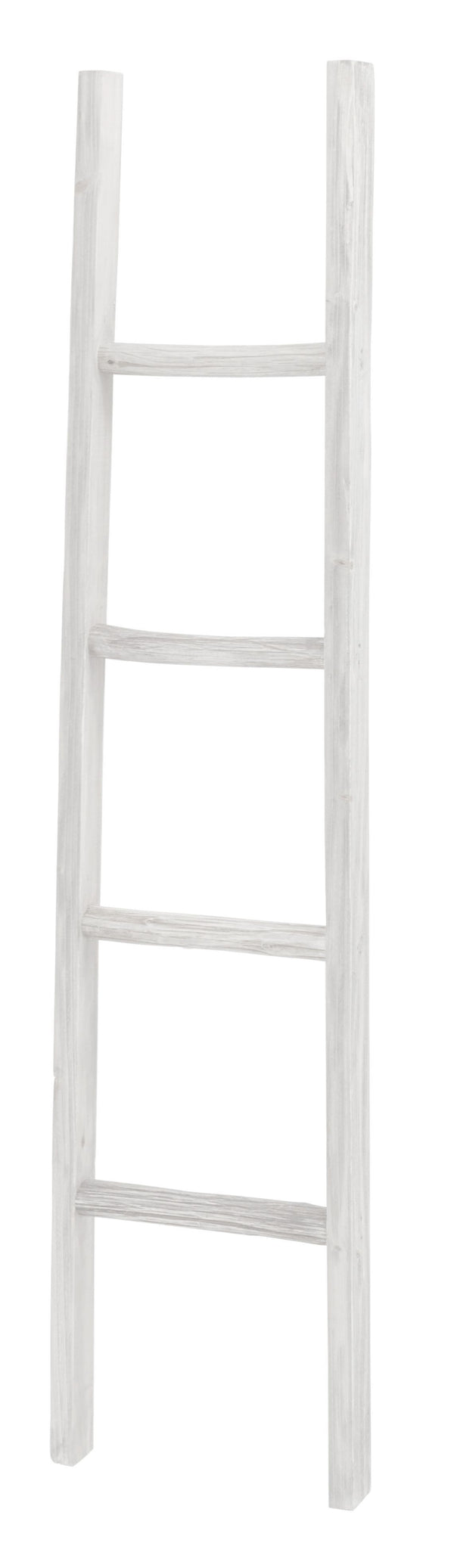 Wooden Ladder - White