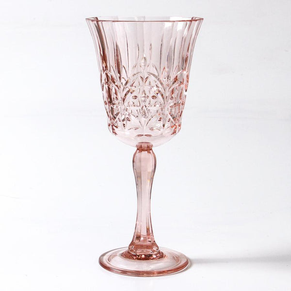 Pavillion Pink Acrylic Wine Glass