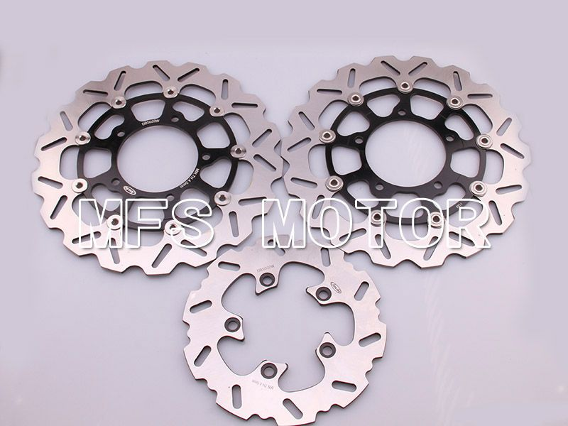 Front Rear Brake Rotors Disc For Suzuki GSXR600 GSXR750 06-07 GSXR1000 05-08