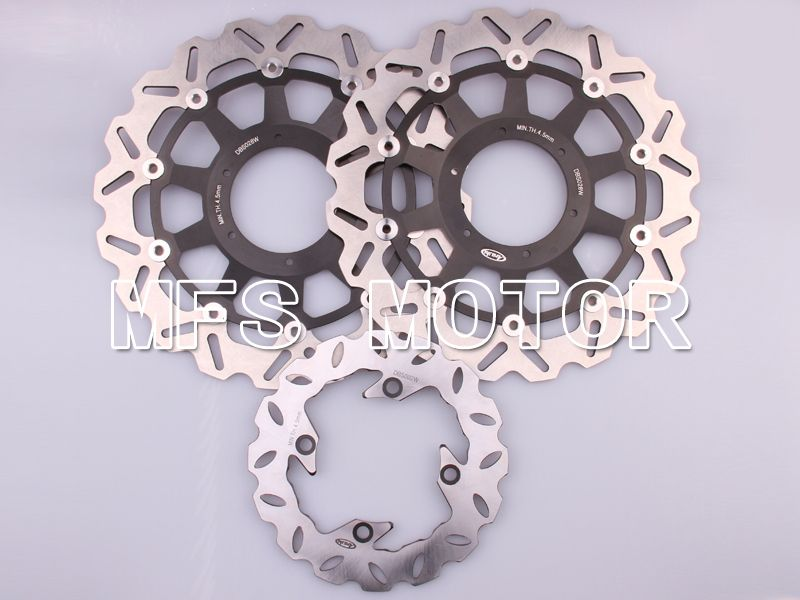 Front Rear Brake Rotors Disc For Honda CBR900RR 954 929 00-03