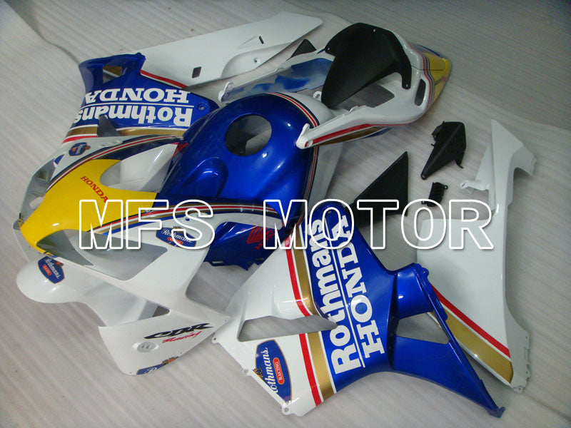 Injection ABS Fairing For Honda CBR600RR 2003-2004 - Rothmans - White Blue Yellow - MFS2070 - shopping and wholesale