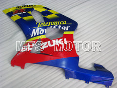 Injection ABS Carénage Pour Suzuki GSXR600 2001-2003 - Movistar - Rouge Bleu - MFS2099 - Shopping et gros