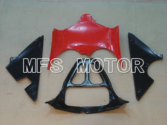 Injection ABS Fairing til Suzuki GSXR600 2001-2003 - Fabriksstil - Sort Rød Sølv - MFS2132 - Shopping og engros