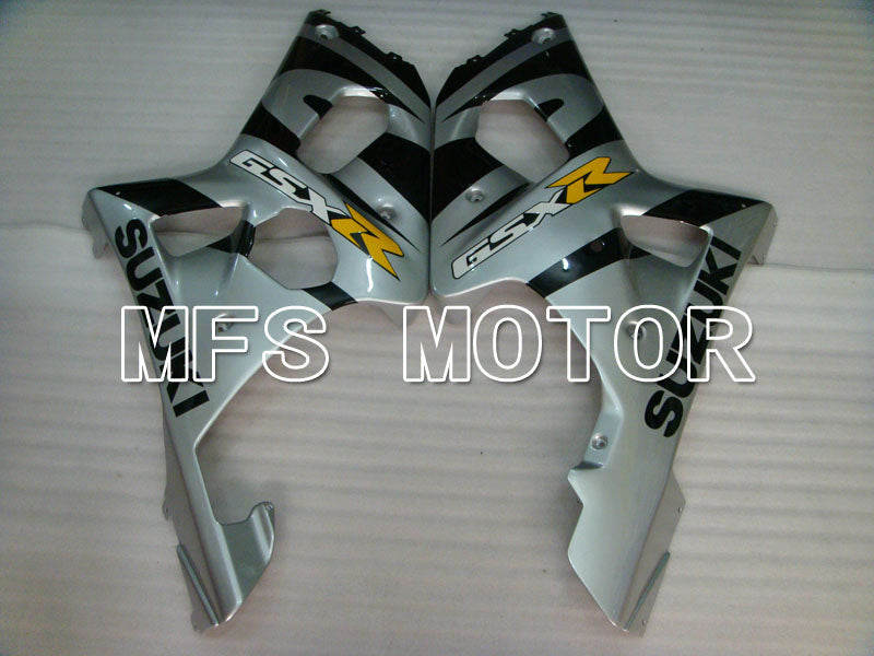 Injection ABS Fairing For Suzuki GSXR600 2001-2003 - Fabriksstil - Sort Sølv - MFS2134 - Shopping og engros