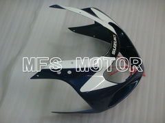 Injection ABS Fairing For Suzuki GSXR600 2001-2003 - Fabriksstil - Sort Blå Hvid - MFS2137 - Shopping og engros