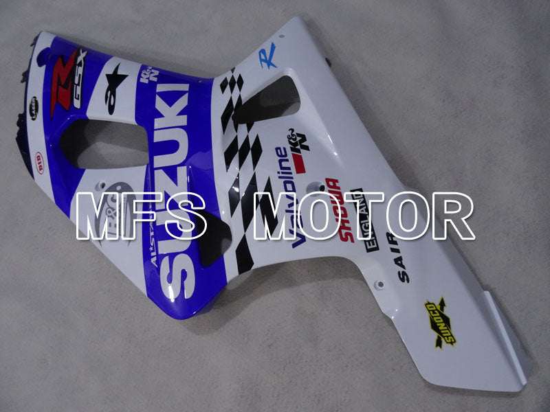 Injection ABS Fairing For Suzuki GSXR600 2001-2003 - MOTUL - Hvid Blå - MFS2147 - Shopping og engros