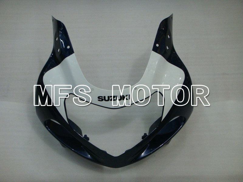 Injection ABS Fairing For Suzuki GSXR600 2001-2003 - Fabriksstil - Sort Blå Hvid - MFS2157 - Shopping og engros