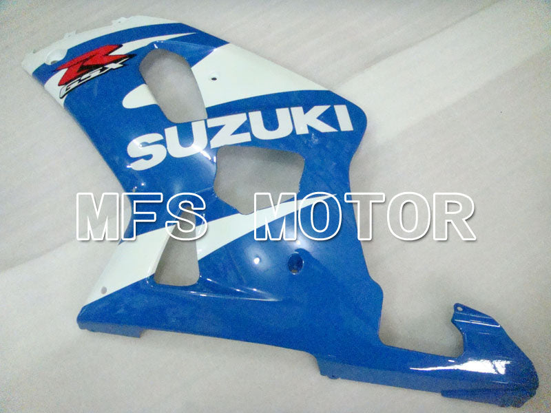 Injektion ABS Fairing For Suzuki GSXR600 2001-2003 - Fabriksstil - Hvid Blå - MFS2171 - Shopping og engros