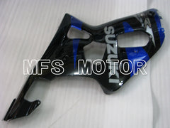 Injection ABS Fairing For Suzuki GSXR600 2001-2003 - Fabriksstil - Sort Blå - MFS2174 - Shopping og engros