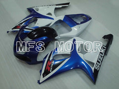 Injektion ABS Fairing For Suzuki GSXR600 2001-2003 - Fabriksstil - Hvid Blå - MFS2176 - Shopping og engros