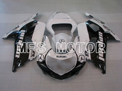 Injection ABS Fairing For Suzuki GSXR600 2001-2003 - Fabriksstil - Sort Hvid - MFS2179 - Shopping og engros