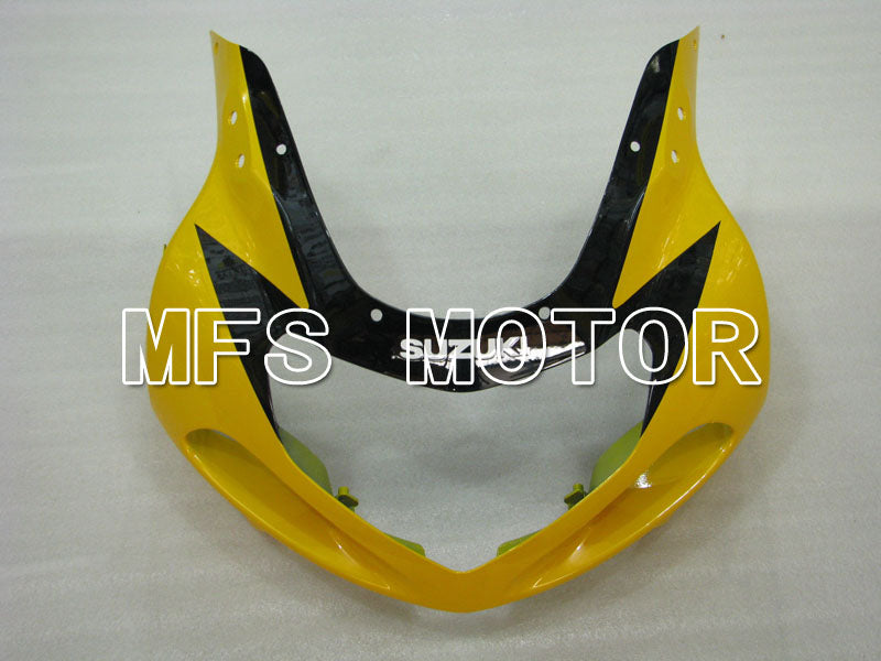 Injection ABS Fairing For Suzuki GSXR600 2001-2003 - Fabriksstil - Sort Gul - MFS2188 - Shopping og engros