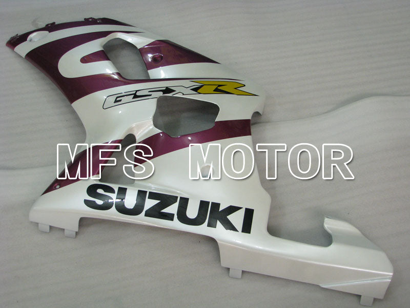 Injection ABS Fairing For Suzuki GSXR600 2001-2003 - Fabriksstil - Hvid Lilla - MFS2193 - Shopping og engros