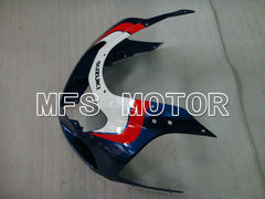 Injektion ABS Fairing For Suzuki GSXR600 2001-2003 - Fabriksstil - Hvid Blå - MFS2210 - Shopping og engros