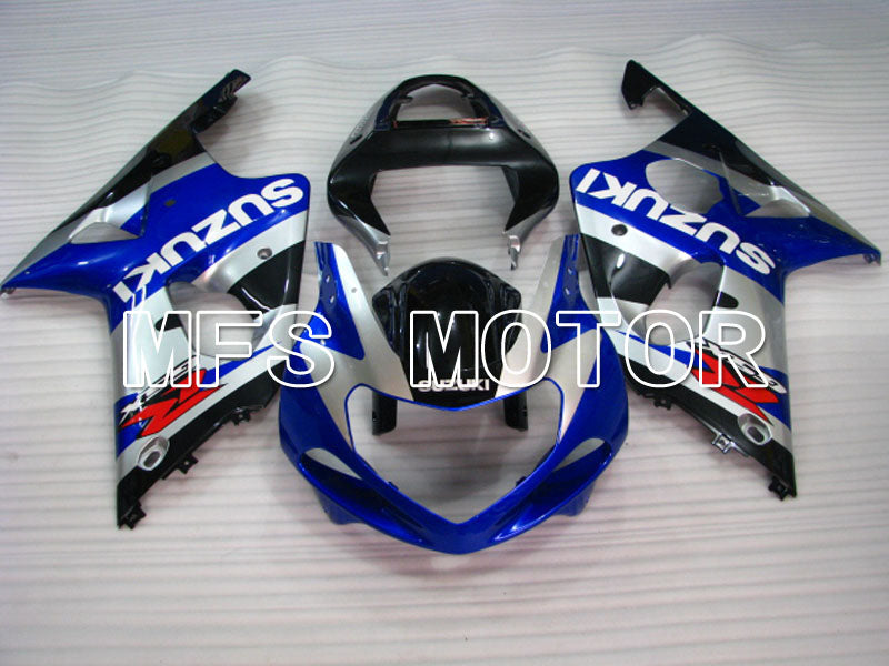Injection ABS Fairing For Suzuki GSXR600 2001-2003 - Fabriksstil - Sort Blå Sølv - MFS2219 - Shopping og engros