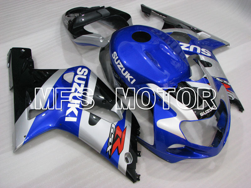 Injection ABS Fairing For Suzuki GSXR600 2001-2003 - Fabriksstil - Sort Blå Sølv - MFS2221 - Shopping og engros