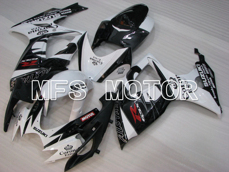 Injection ABS Fairing For Suzuki GSXR600 GSXR750 2006-2007 - Corona - Sort Hvid - MFS2320 - Shopping og engros