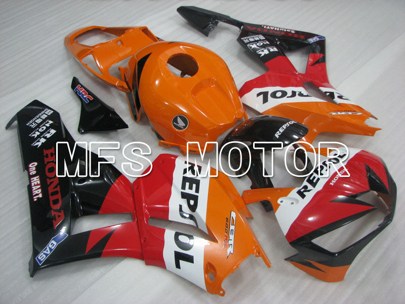 Iniezione ABS Carena per Honda CBR600RR 2013-2017 - Repsol - Orange Red Black - MFS2401 - shopping e ingrosso